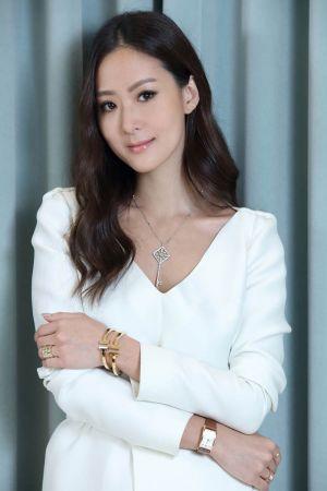 孫芸芸配戴Tiffany T系列珠寶