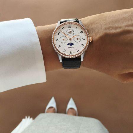 萬寶龍 Boheme 寶曦系列萬年曆珠寶腕錶