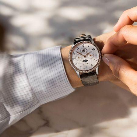 萬寶龍Boheme寶曦系列萬年曆珠寶腕錶