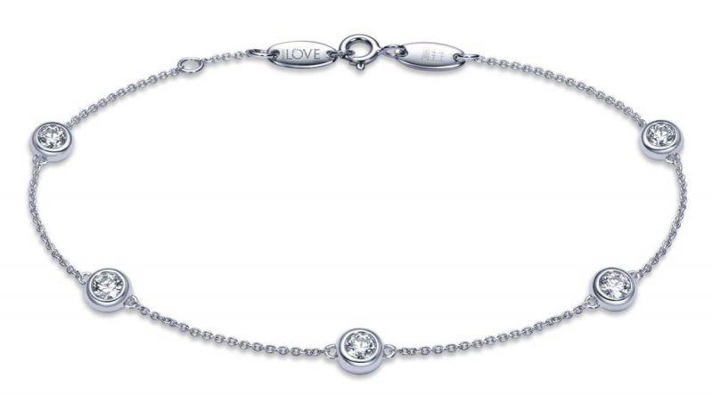[ Iconic] 點睛品 Infini Love Diamond Iconic系列白金鑽石手鍊