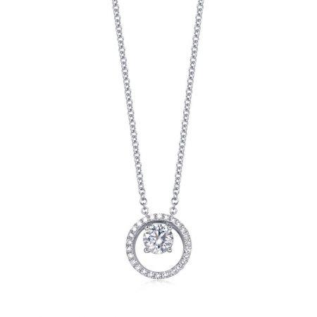 [ Iconic] 點睛品 Infini Love Diamond Iconic系列白金鑽石頸鍊