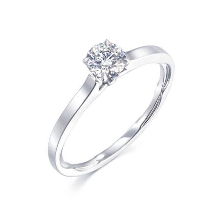 [典雅] 點睛品 Infini Love Diamond 典雅系列鉑金鑽石戒指