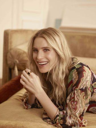 新一代Chloe代言人德莉·海明威Dree Hemingway,她也是當代大文豪海明威的外曾孫女。