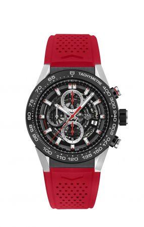 Carrera Heuer-01 系列腕錶,精鋼錶殼,Tag Heuer。
