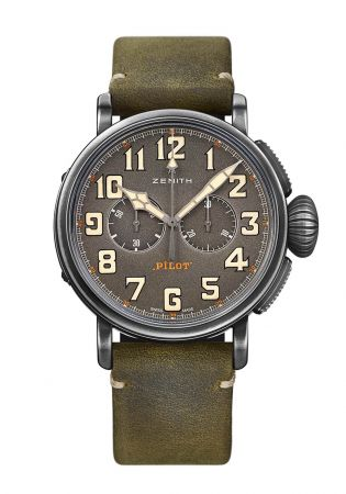 Heritage Pilot Ton-Up 腕錶,Zenith。