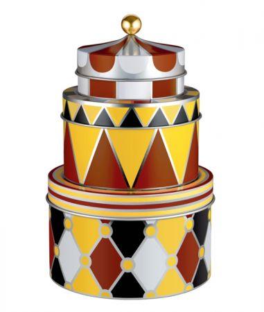幾何層疊收納罐組