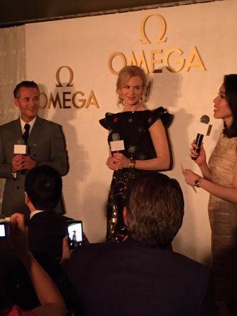 Omega 品牌大使 Nicole Kidman