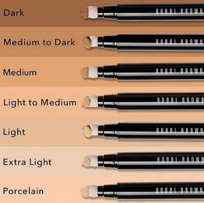 目前台灣僅出6種色調: #Porcelain、#Extra Light、#Light、#Light to Medium、#Medium、#Medium to Dark