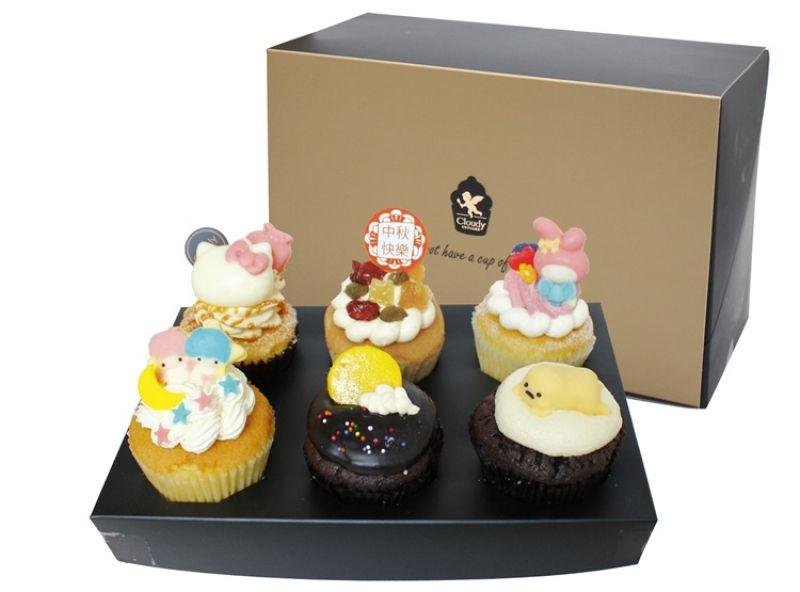 「三麗鷗大團圓杯子蛋糕6入禮盒」,特惠價$518