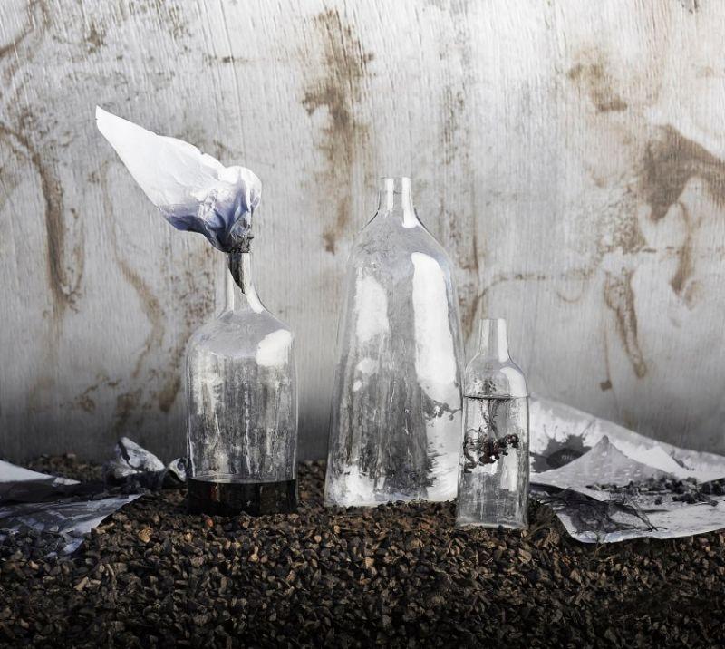 SVÄRTAN 花瓶, 透明玻璃 $299-$649