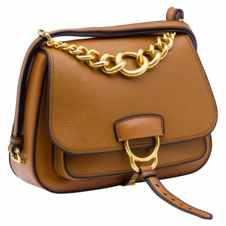 MIU MIU DAHLIA 早秋新款山羊皮咖啡棕肩背包(大) $71,500.jpg