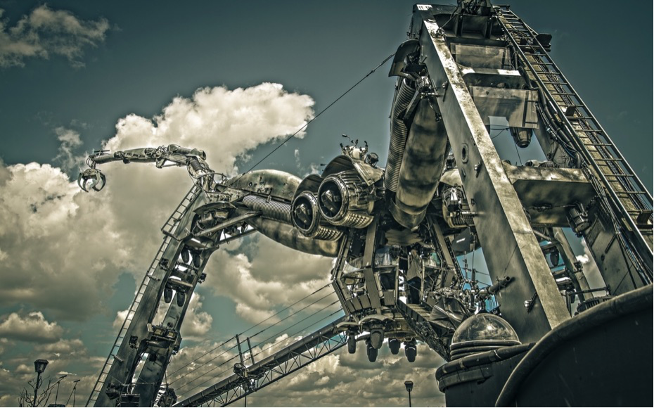 100%英國原裝進口、台灣首創360度全新電音體驗巨型蜘蛛舞台。