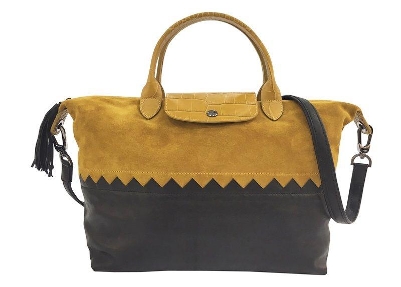 Le Pliage Cuir Cody托特包(黃褐色) $18,400-$21,300