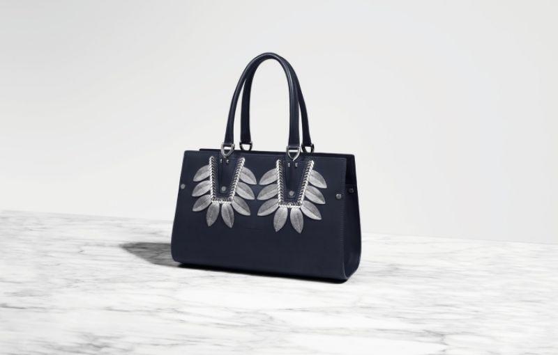 Longchamp總店限定Paris Premier Couture 海軍藍