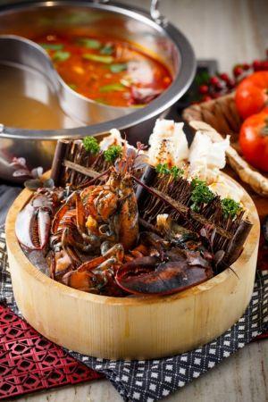 龍蟹雙人套餐 海鮮主菜-波士頓龍蝦、北海道鱈場蟹