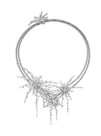 TASAKI spirea 鑽石鉑金項鍊 NT$3,650萬