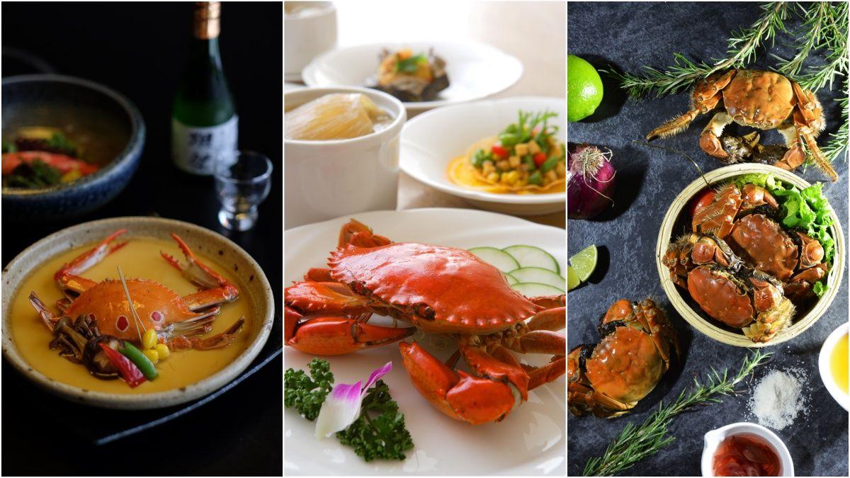 入秋美食非螃蟹莫屬!特搜4家餐廳大啖美味秋蟹料理