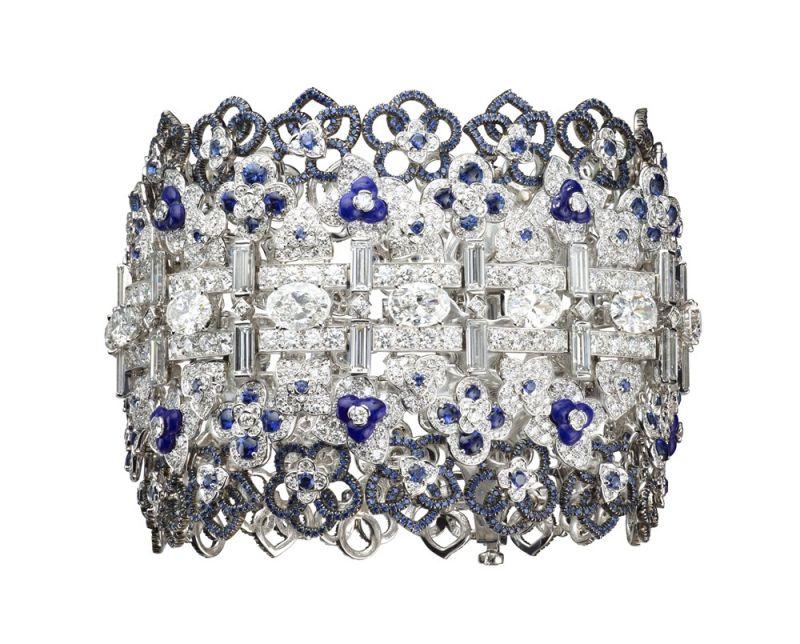 CJAUMET Hortensia 繡球花手鐲 建議售價 23,960,000