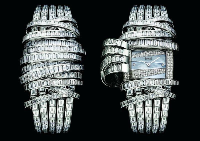 楊謹華於頒獎會場內穿戴的第二套PIAGET珠寶