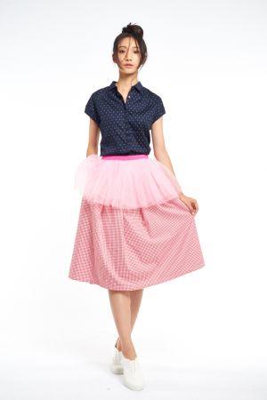 PINK RUN 運動時尚風潮蔓延Style 1:50's 甜美嬌妻風