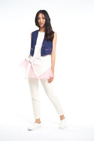 PINK RUN 運動時尚風潮蔓延Style 3:帥氣都會女郎