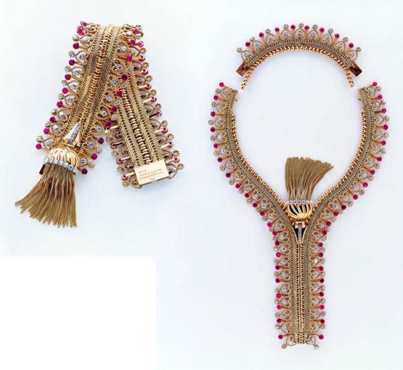 Van Cleef & Arpels 的Zip項鍊