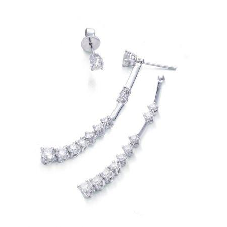 點睛品 Infini Love Diamond 婚嫁系列900鉑金鑽石耳環
