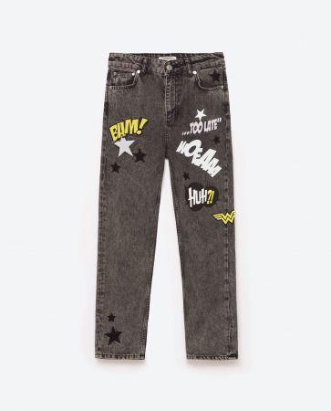 WONDER WOMAN 牛仔褲NT1990