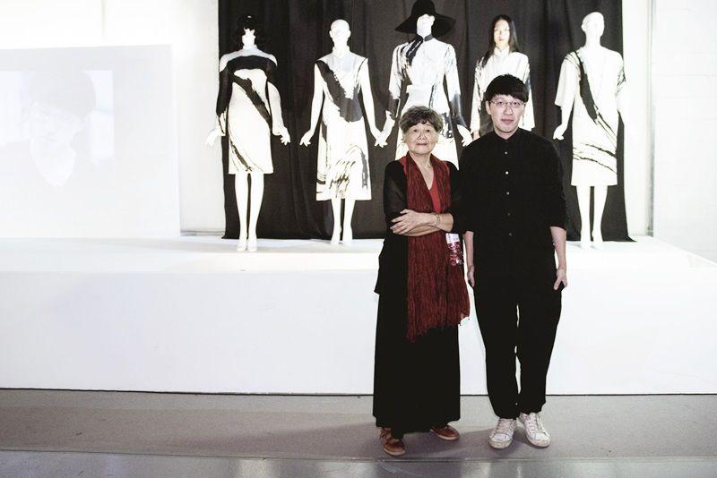 董陽孜老師與設計師詹朴