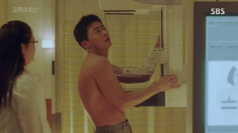韓劇《嫉妒的化身》裡,男主角也被診斷出乳癌,一開始心理非常不能接受,覺得這是「女人的病」,甚至因此延誤治療。