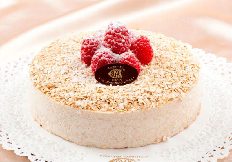 燕麥聖代蛋糕 一口嚐盡義式經典及浪漫