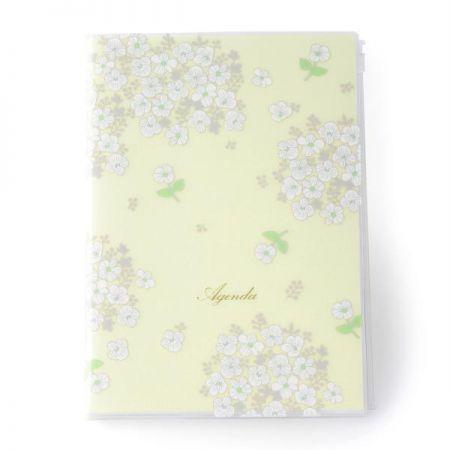 A5原創機能行事曆 花朵白,售價1050元