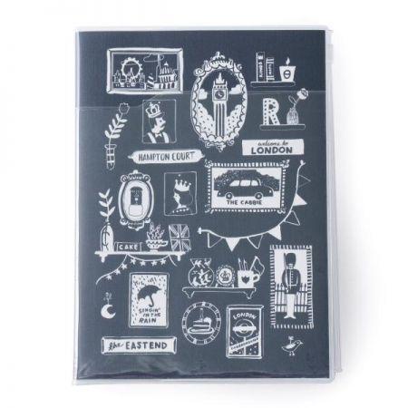 A5原創機能行事曆 RUBY藍,售價950元