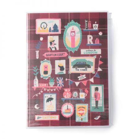 B6原創機能行事曆 RUBY紅,售價820元