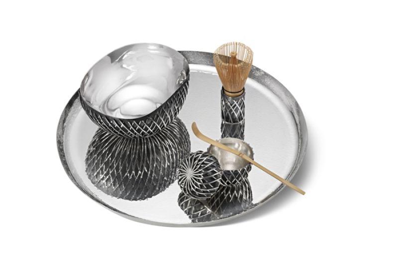 GEORG JENSEN 喬治傑生 KUSA純銀茶具組 建議售價NT$2,450,000