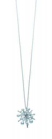 MIKIMOTO A World of Creativity 系列SPLASH日本Akoya真珠鑽石墜鍊,698,000元