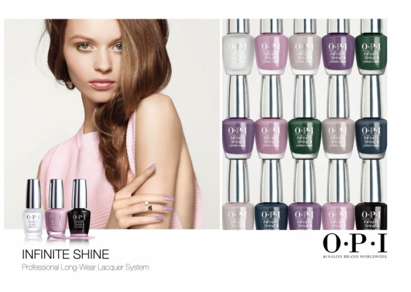 OPI Infinite Shine Collection如膠似漆秋日系列  ,15ml/680元
