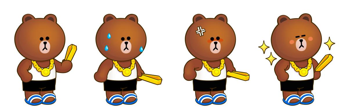 台味新角色「台客熊大」即將登場!