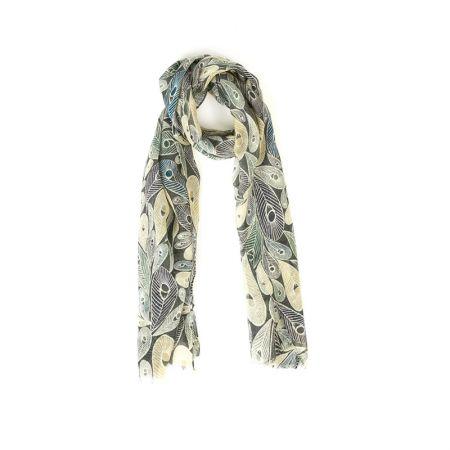 AIGLE 風格羊毛圍巾 $1,880