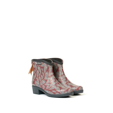 AIGLE 女 印花休閒短靴 $5800