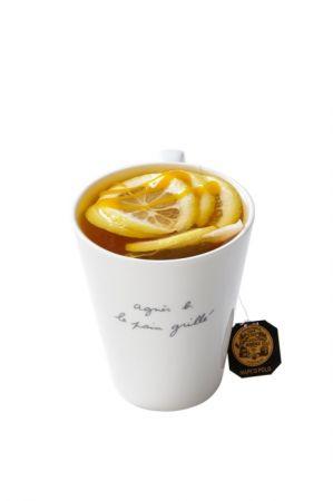 熱檸檬百香風味馬可波羅茶,NT$140