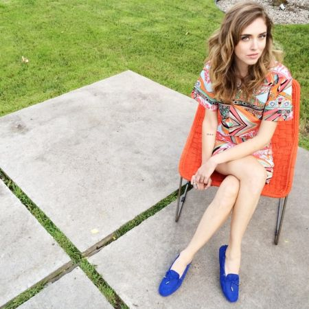 義大利時尚部落客Chiara Ferragni 穿上TOD'S 豆豆鞋