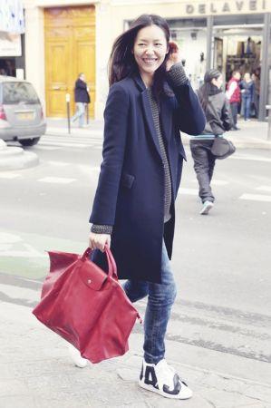 中國超模 劉雯