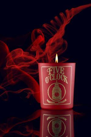 五時茗茶薰香蠟燭 (Five O' clock Tea Scented Candle),建議售價NTD 2,600
