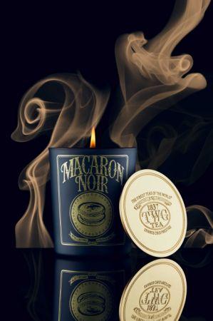 幻墨寶匣茶薰香蠟燭 (Macaron Noir Tea Scented Candle),建議售價NTD 2,600