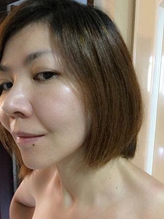 洗完後我發現頭髮變乖了,吹整速度很快,跟以前比省下不少時間,而且髮質非常有彈性,散發著健康的光澤。美髮就等於美貌!