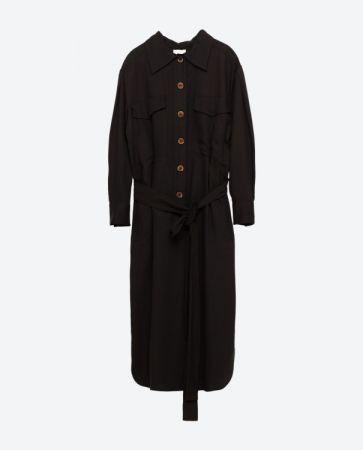 獵裝式連衣裙 NT3490