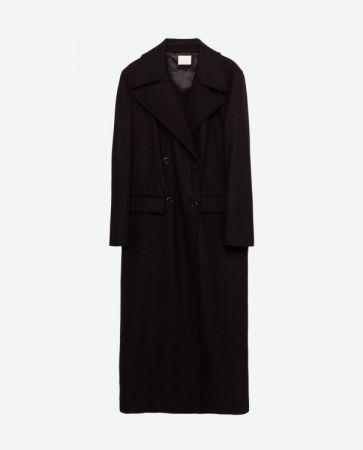 再生羊毛長大衣 NT7490