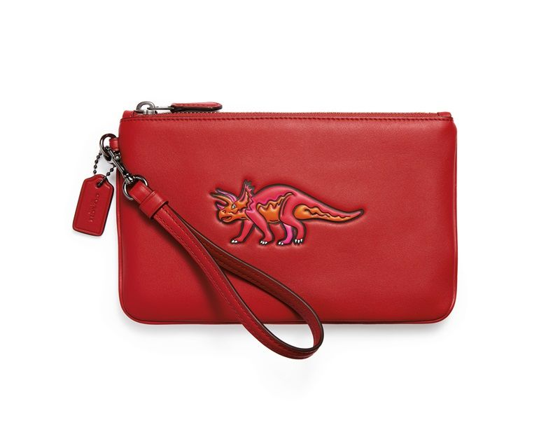 Coach Beasts Small Wristlet_Red TWD 7,500