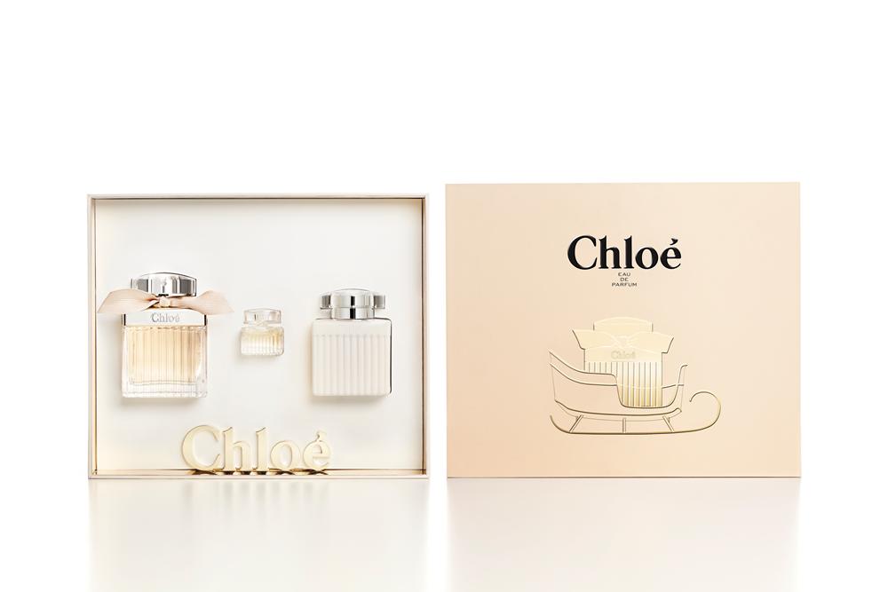 Chloe同名2016幸福雪橇限量禮盒(香水75ml+身體乳100ml+小香),NT4200。